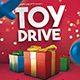 Toy Drive Flyer Holiday Donations Template - GraphicRiver Item for Sale