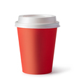 red plastic coffee cup - PhotoDune Item for Sale