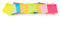 Colorful stickers on a white background - PhotoDune Item for Sale