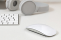 Keyboard and mouse on a white - PhotoDune Item for Sale