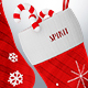 Christmas Socks with Candy - 3DOcean Item for Sale