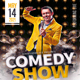 Comedy Show Open Mic Flyer Template V5 - GraphicRiver Item for Sale