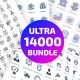 14000 Ultra Big Bundle Icons - GraphicRiver Item for Sale