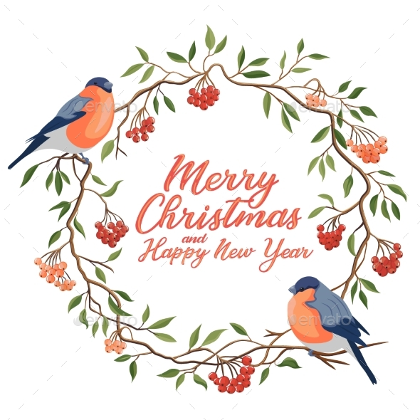 Hand Drawn Merry Christmas Typography in