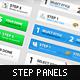Step Process Panels Mega Set – Over 100 Variations - GraphicRiver Item for Sale