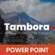 Tambora Minimalism - PowerPoint - GraphicRiver Item for Sale