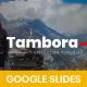 Tambora Minimalism - Google Slides - GraphicRiver Item for Sale
