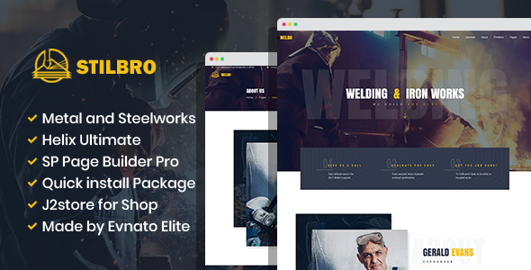 Download Stilbro – Metal and Steelworks Company Joomla Template Nulled
