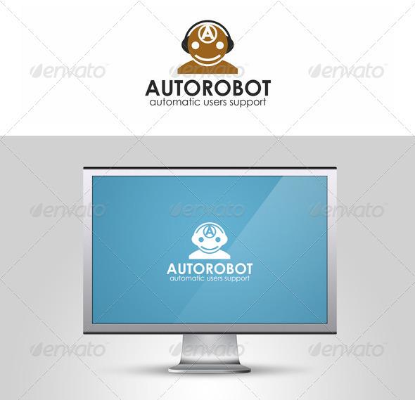 Auto Robot Logo Template