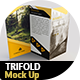 Trifold Brochure Mockup - GraphicRiver Item for Sale