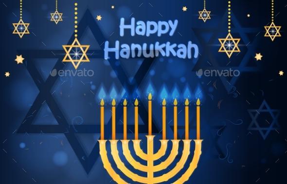Happy Hanukkah and Passover Card