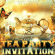 Lovely Afternoon Tea Party Invitation - GraphicRiver Item for Sale