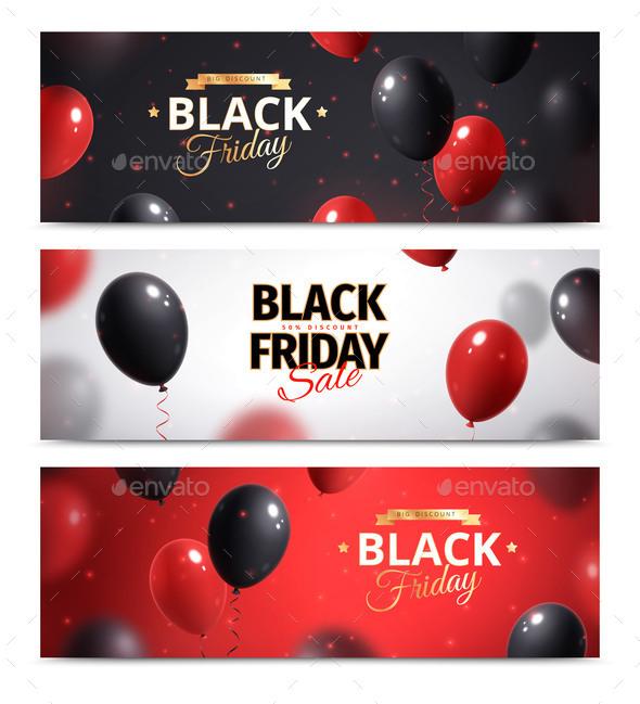 Black Friday Banner Set