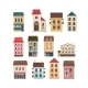 Set of Houses with Shops and Outbuildings - GraphicRiver Item for Sale