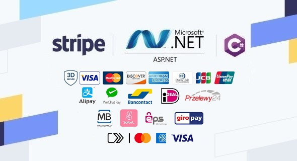 Stripe Checkout in ASP.NET Web Forms Application built with C# and JavaScript