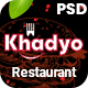 Khadyo - Restaurant PSD Template - ThemeForest Item for Sale