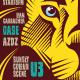 Lion Indie Rock Flyer - GraphicRiver Item for Sale