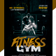 Fitness Gym Social Media Pack + Flyer Template - GraphicRiver Item for Sale