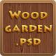 Woodgarden - Creative PSD Template - ThemeForest Item for Sale