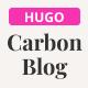 Carbon Blog | HUGO Static Site Generator | Personal Blog - ThemeForest Item for Sale