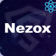 Nezox - React Next Cyber Security Company Template - ThemeForest Item for Sale