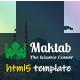 Maktab - Islamic Institute Responsive HTML Template - ThemeForest Item for Sale