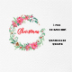 Christmas Wreath Clipart PNG - GraphicRiver Item for Sale