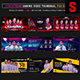 Esports Social Media Stream Gaming Video Thumbnail / Banner Overlay Photoshop Templates Bundle 1 - GraphicRiver Item for Sale