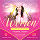 Women Night of Worship Church Flyer - GraphicRiver Item for Sale