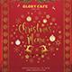 Christmas menu Template - GraphicRiver Item for Sale