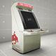 Retro Gaming Arcade SHMUP Cabinet Mockup Template - GraphicRiver Item for Sale