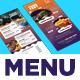 Rack Card DL Flyer Menu - GraphicRiver Item for Sale