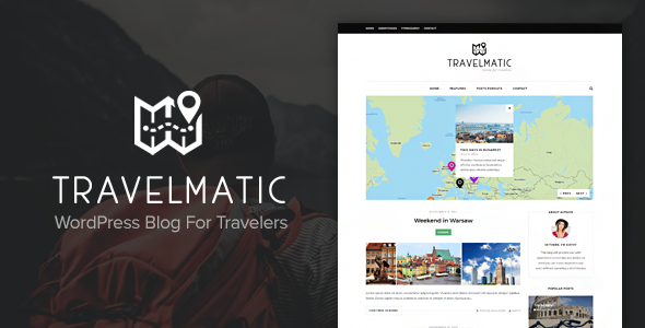 Travelmatic -  Adventure Trips Blog WordPress Theme