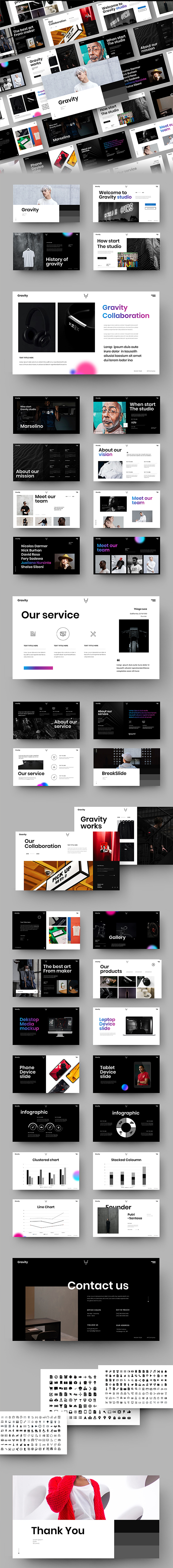Graphicriver 29507311 Gravity Business Powerpoint Template Zip Updated Nulled Free Download