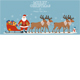 Santa Claus on Sleigh Full of Gifts with his Reindeers - GraphicRiver Item for Sale