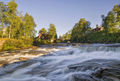 Rapids in the Ljusnan river - PhotoDune Item for Sale
