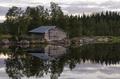 Boathouse on a Swedish lake - PhotoDune Item for Sale
