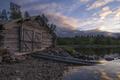 Boathouse on lake Ostersjon - PhotoDune Item for Sale