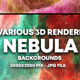 Nebula Backgrounds - GraphicRiver Item for Sale