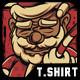 Meet Santa Happy Christmas T-Shirt Design - GraphicRiver Item for Sale