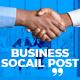 Business Promo Social Post V28 - VideoHive Item for Sale