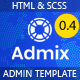 Admix - HTML Admin Dashboard Template - ThemeForest Item for Sale