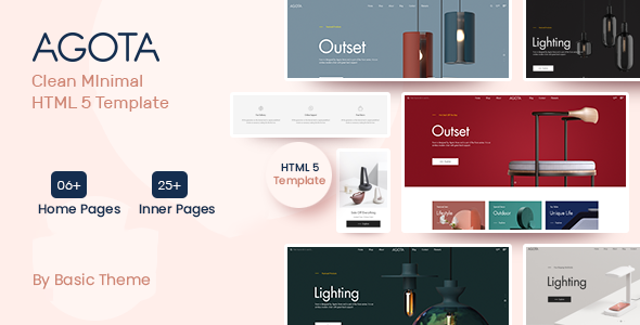 Download Agota – Clean Minimal eCommerce HTML5 Template Nulled