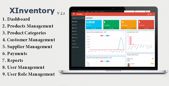 XInventory - Sales, Purchase and Invoicing Solution