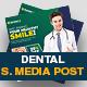 Dental Social Media Post Design Template - GraphicRiver Item for Sale