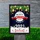 Merry Christmas & Happy New Year Poster - GraphicRiver Item for Sale