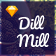 Dillmill - Organic and Food Store Sketch Template - ThemeForest Item for Sale