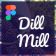 Dillmill - Organic and Food Store Figma Template - ThemeForest Item for Sale