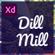 Dillmill - Organic and Food Store XD Template - ThemeForest Item for Sale