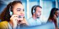 Customer service executive working - PhotoDune Item for Sale
